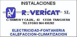 Instalaciones Ramon Vericat - Turisme de Traiguera